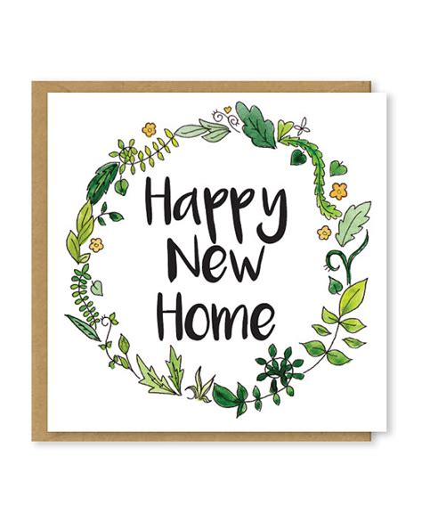 design your own new home cards design your own new home cards new home card floral happy