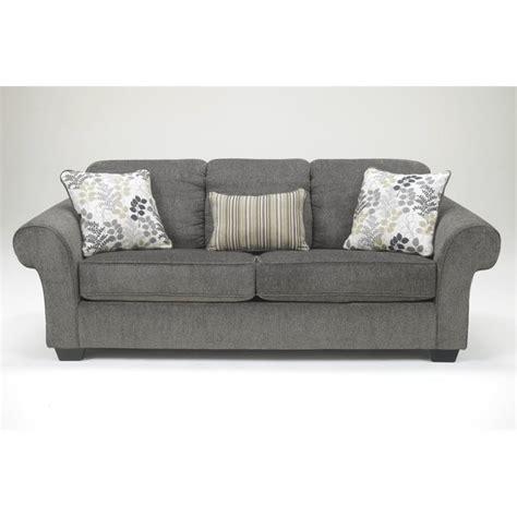 Chenille Sleeper Sofa Makonnen Chenille Size Sleeper Sofa In Charcoal 7800039