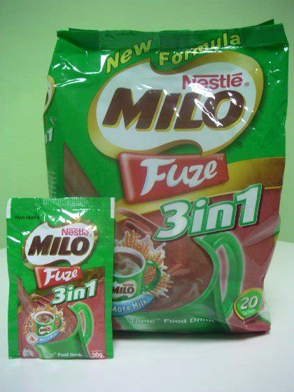 Milo Sachet 33gr X 18 milo 3 in 1 beverages products singapore milo 3 in 1