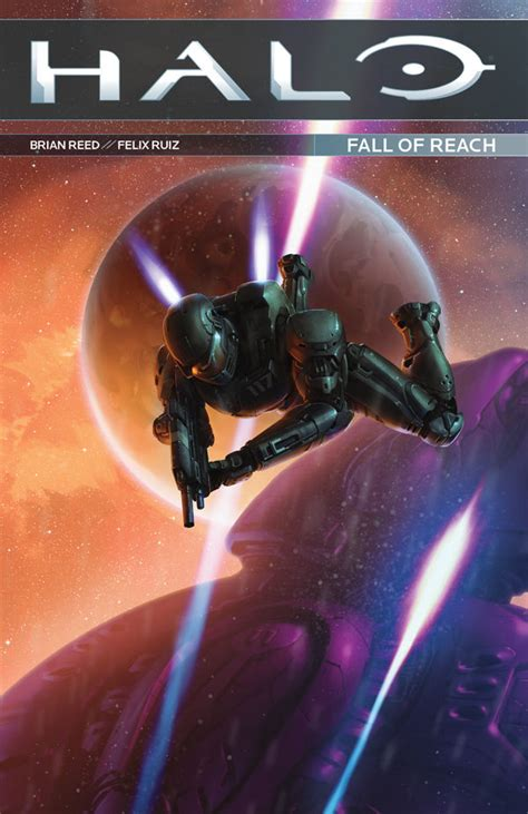 Komik Marvel Halo Graphic Novel comic book review halo fall of reach bounding into comics