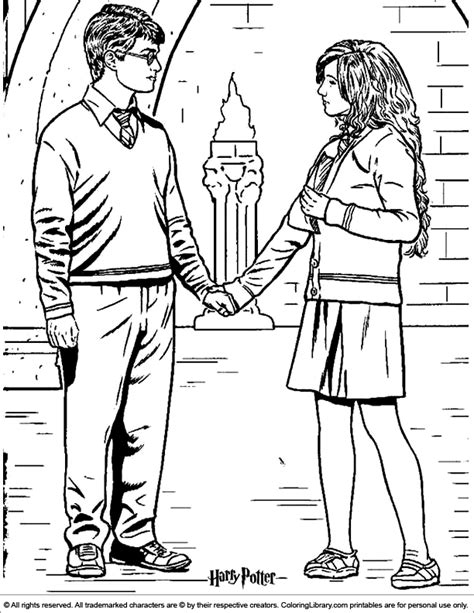 luna and harry lego harry potter coloring pages get harry potter coloring picture