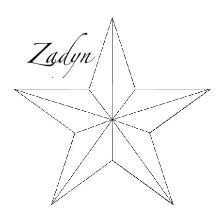 star outline tattoo nautical outlines