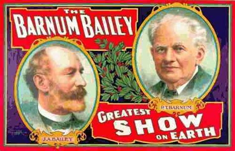 Barnes And Bailey Circus by Showbiz David Ringling Drama That Never Makes It To The