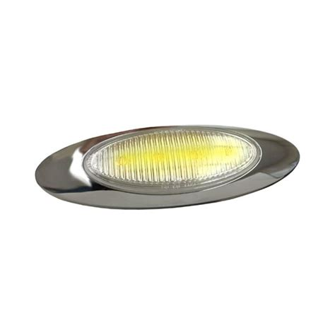 grote led marker lights grote 174 47773 m1 series 7x2 quot oval chrome led marker