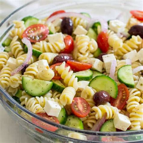 easy pasta salads easy pasta salad for a large crowd