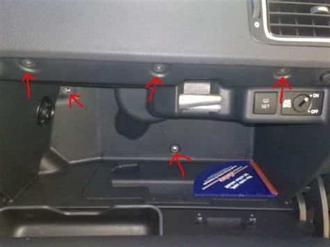 Audi A4 B6 Handschuhfachdeckel Ausbauen by Handschuhfach Ausbauen Polo 6r Vw Polo 5