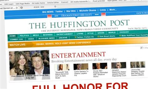 huffington post sections is the huffington post ready to replace the ailing us