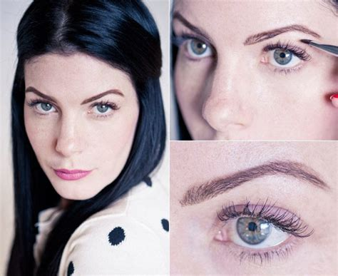 thick eyebrow trend 7beautytips beauty fashion eyebrow styles for 2013 easily change your look with a