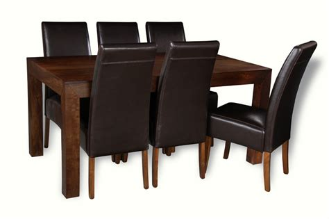 mango dining table and chairs mango 160cm dining table 6 madrid chairs trade