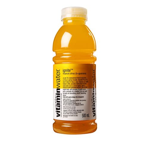 Vitamin Water Glaceau Vitamin Water Multi V Lemonade 12 X 500ml Quotes