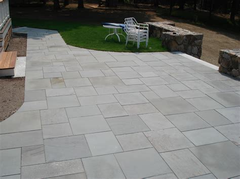 types of pavers for patio types of patios concord stoneworks