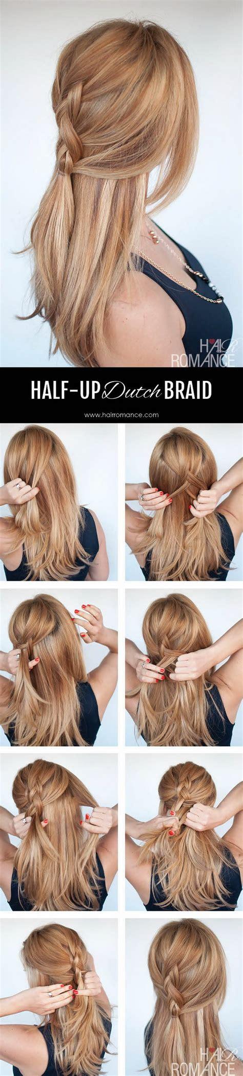 half up half down hairstyles easy step by step 55 stunning half up half down hairstyles