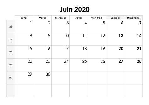 calendrier juin  calendriersu