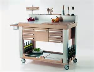 Kitchen Island Trolleys by Modern Kitchen Trolleys Shelterness