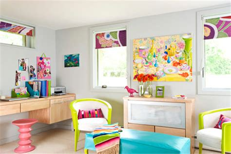 bright and colorful basement bedroom design digsdigs