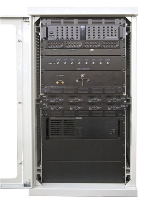 Pa Rack Cabinet by Cie Pa Av Rack Design Build System Rack Build