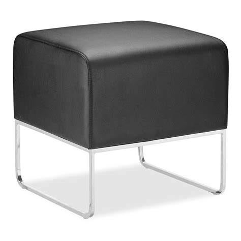 modern ottomans zuo modern plush ottoman leather ottoman black ottomans