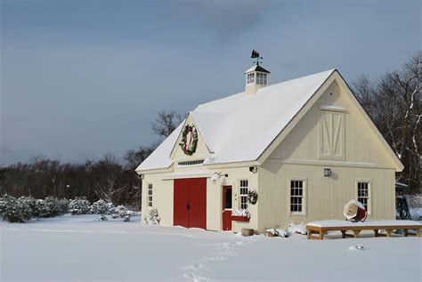 barn home for the holidays