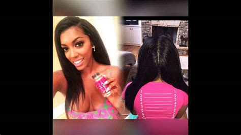 www poachie hair weave atlanta house wife porsha williams natural hair all real just like her body