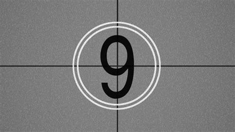 test pattern countdown countdown test pattern stock footage video 2945239