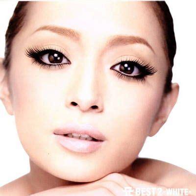 Sabrina Ayumi Black a best 2 white ayumi hamasaki cd cover