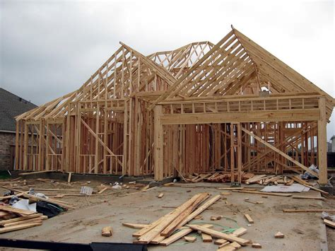 carr design frame house our framed house they framed it just in time for it to