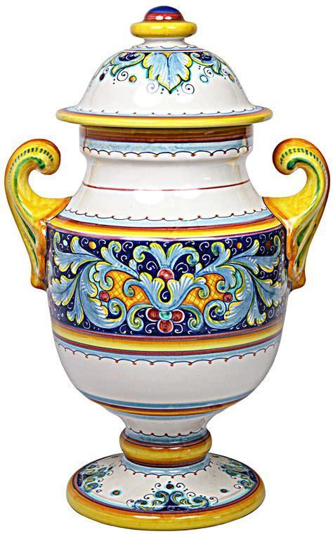 Deruta Italian Urn