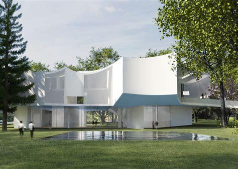 house centre steven holl architects e architect