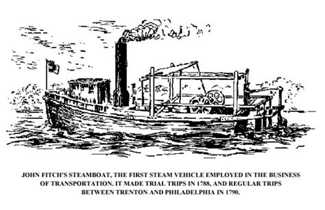 steamboat john fitch steamboat history timeline timetoast timelines