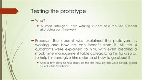 design thinking questionnaire design thinking prototype and test