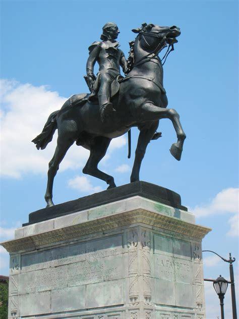 file lafayette statue mount vernon place baltimore md