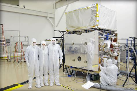 nasa glast in the clean room