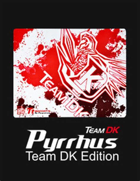 Gaming Mouse Ttesports Thermaltake Pyrrhus Large Team Dk Edition tt esports