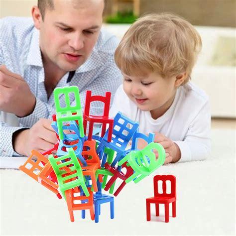 Dijamin Mainan Hits Kursi Keseimbangan Balance Chairs mainan tumpuk kursi keseimbangan multi color