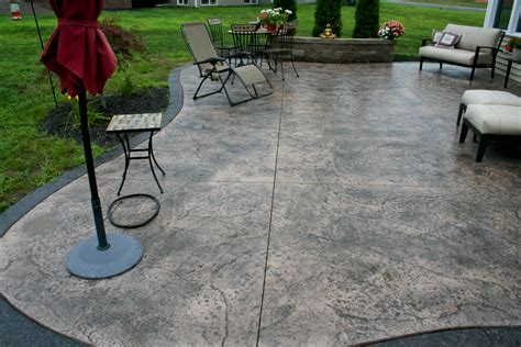 Cost Of A Patio by Sted Concrete Patios Cost