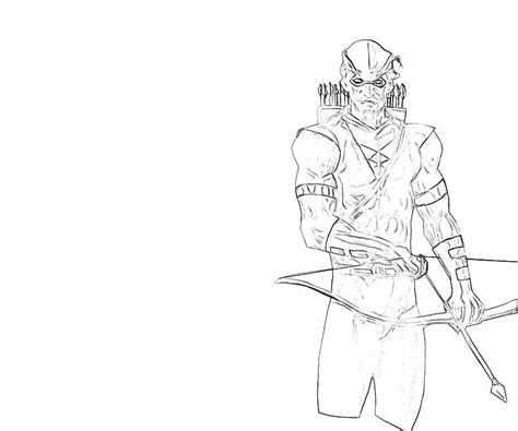 Free Coloring Pages Of Green Arrow Green Arrow Coloring Pages