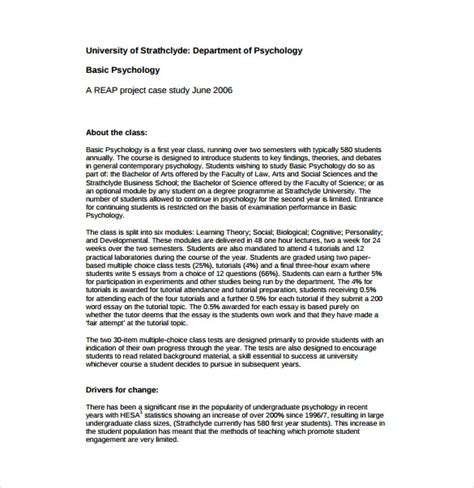psychological study template 12 study templates pdf doc free premium templates