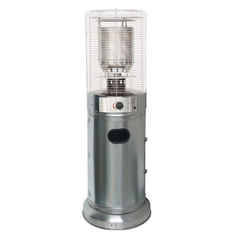 10kw Professional Stainless Steel Floor Standing Bullet Professional Patio Heater