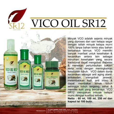 vico oil sr vco virgin coconut oil minyak kelapa