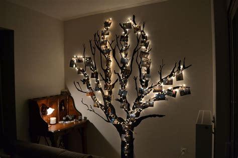 Diy Bedroom Chandelier идеи за дома светещо дърво в спалнята превърнете бялата