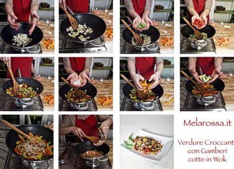 cucinare con wok la cucina con la wok sana veloce e gustosa melarossa