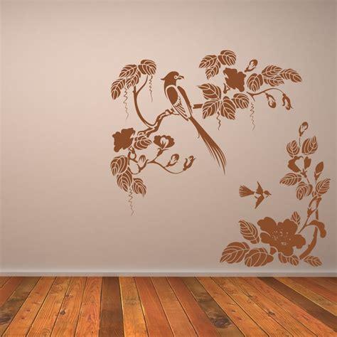 art wall decor cool and beauty with flower bedroom wall wall art ideas design humming bird flowers wall art