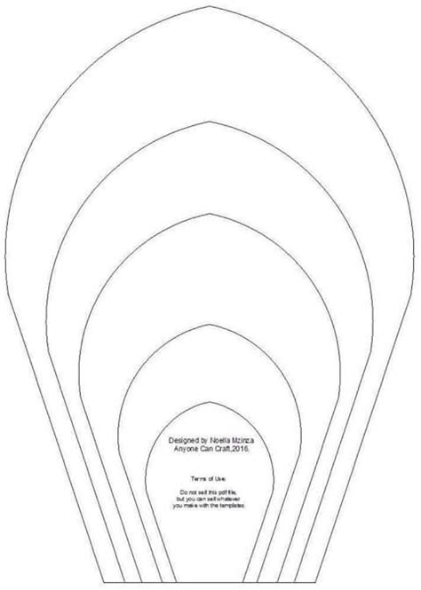 printable giant paper flower templates pin by yvonne viloria on patrones pinterest paper