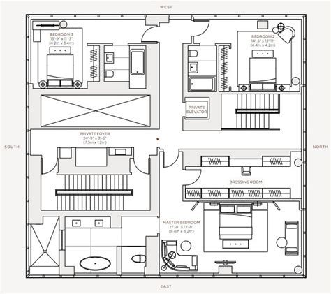 one madison floor plans floor plan rupert murdoch one madison penthouse 23