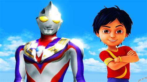 film kartun ultraman tiga shiva antv upin ipin gaia vs ultraman tiga super animasi