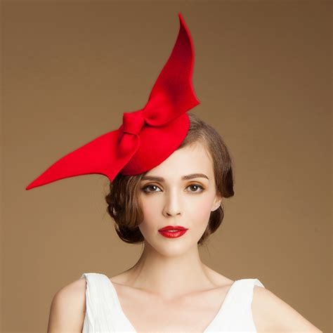 2014 new style bow wool felt hats for fashion