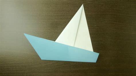 Origami L - bricolage yacht origami l de plier le papier