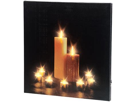 Bilder Kerzenlicht Kostenlos by Infactory Kerzenbild Wandbild Quot Kerzenlicht Quot Mit