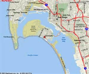 coronado california maps
