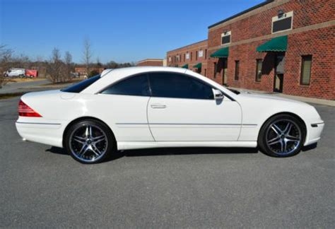 online auto repair manual 2002 mercedes benz cl class security system buy used 2002 mercedes benz cl500 amg sport package in for us 14 900 00